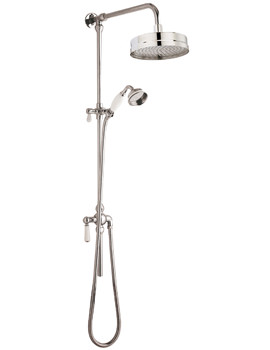 Related Ultra Traditional Rigid Riser Shower Kit With Diverter - AM318
