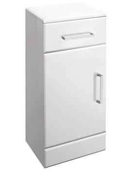Ultra Marvel-Beaufort White Cupboard 250 x 766 x 300mm - FMV009
