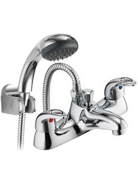 Dv8 Bath-Shower Mixer Tap With Kit - DVBSM