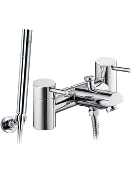 Xcite Bath-Shower Mixer Tap With Handset And Hose - XCBSM
