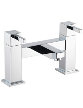 Pura Sq2 Deck Mounted Bath Filler Tap - SQBF