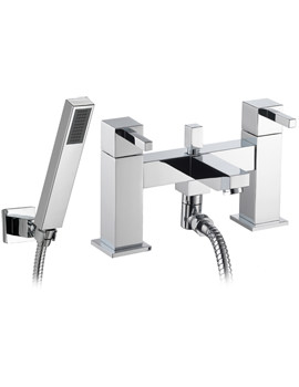 Sq2 Bath-Shower Mixer Tap With Kit - SQBSM