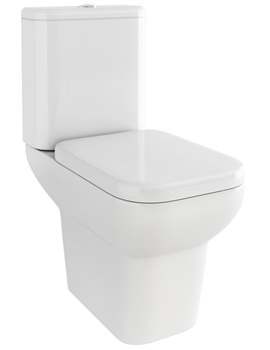 Urban Close Coupled WC With Cistern And Soft Close Seat 620mm