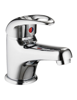 Related Pura Dv8 Eco Basin Mixer Tap With Clicker Waste - DVEBAS