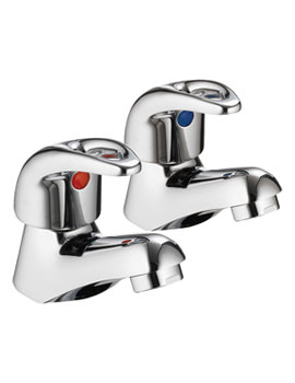 Dv8 Pair Of Basin Taps - DV12