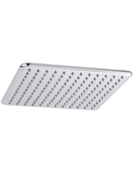 Premier Square 300 x 300mm Fixed Shower Head - EX-DISPLAY