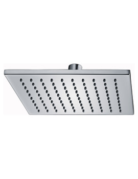 Deluxe Square Brass Shower Head 200mm - KI073