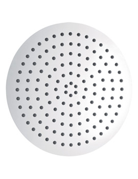 Slimline Stainless Steel Round Shower Head 300mm - KI075B