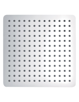 Slimline Stainless Steel Square Shower Head 300mm - KI074B