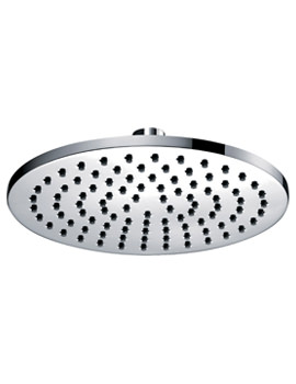Pura Deluxe 200mm Round Brass Shower Head - Image