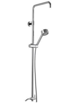 Levo Shower Rigid Riser Kit With Diverter - LVRRKD