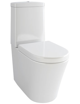 Arco Close Coupled WC Bowl With Cistern And Soft Close Seat 710mm