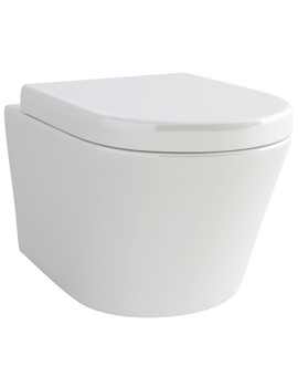 Arco Wall Hung WC Bowl And Soft Close Seat 520mm