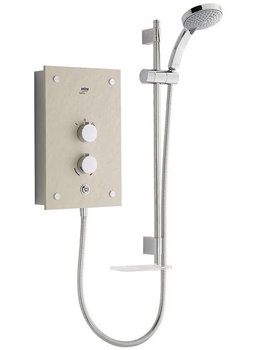 Related Mira Galena Electric Shower 9.8kW Light Stone - 1.1634.084