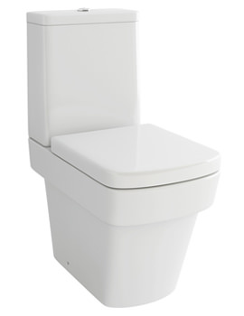 Str8 Close Coupled WC Bowl With Cistern And Soft Close Seat 640mm