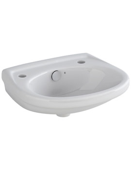 Ivo 360mm 2 Tap Hole Handrinse Basin - LH10192TH