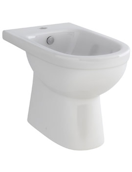 Ivo Floor Standing 1 Tap Hole Bidet 600mm - B1076