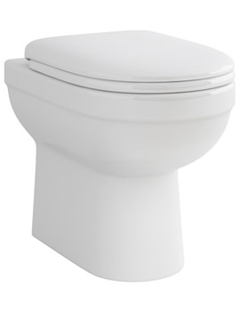 Related Pura Ivo Back-To-Wall WC Bowl And Soft Close Seat 550mm
