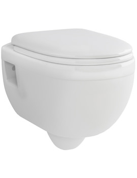Pura Ivo Wall Hung WC Bowl 500mm - CH1076