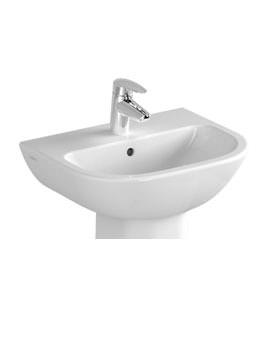 Vitra S20 1TH Cloakroom Basin 45cm - 5500L003-0999