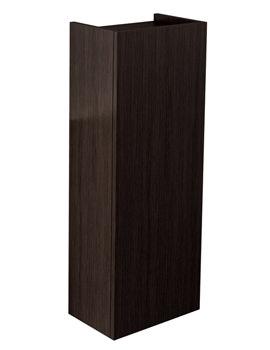 Pura Echo Wenge Finish 300 x 800mm Single Door Short Storage Unit
