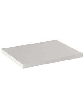 Pura Echo White Gloss Finish Worktop 800mm - ECWT80WG