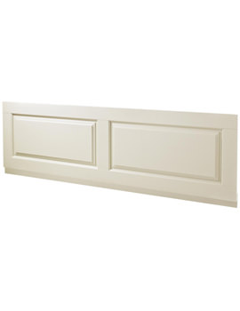 Old London Amersham Ivory Wooden Front Bath Panel 1800mm