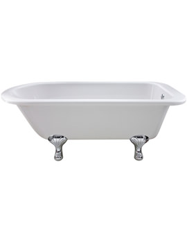Ultra Faversham Single Ended Freestanding Bath With Feet 1700 x 750mm