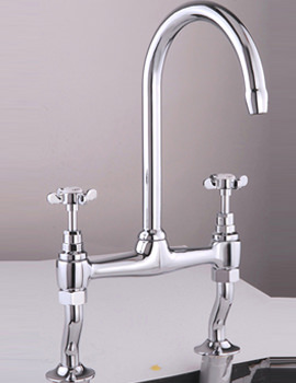 Westminster Bridge Kitchen Sink Mixer Tap Chrome - KIT209