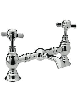 Ultra Beaumont Luxury Bridge Basin Mixer Tap - I315X