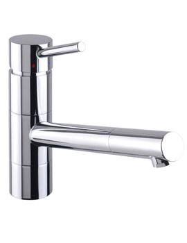Rota Chrome Kitchen Sink Mixer Tap - KIT185