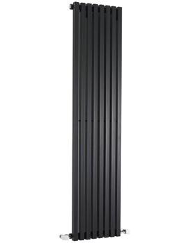 Kinetic Black Designer Radiator 360 x 1800mm - HLB96