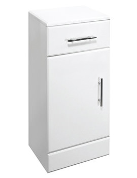 Lauren High Gloss White 250 x 300mm Cupboard - VTY032