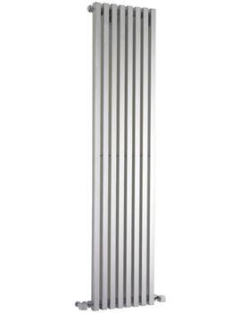 Ultra Kinetic Silver Designer Radiator 360 x 1800mm - HLS96