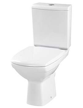 Related Lauren Hamilton Close Coupled WC Pan With Cistern And Soft Close Seat