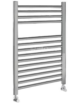 Ultra Straight Heated Towel Rail 500 x 700mm Chrome - HK381