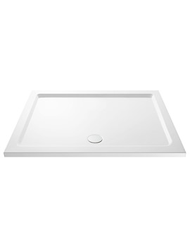 Pearlstone 1400 x 760mm Rectangular Shower Tray
