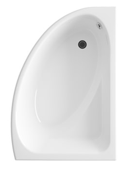 Lauren Pilot 1500mm Offset Corner Left Handed Acrylic Bath