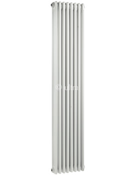 Colosseum Triple Column 381 x 1800mm White Radiator - HX312