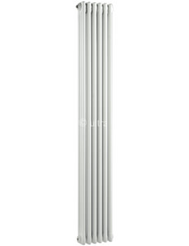Colosseum Triple Column 291 x 1800mm White Radiator - HX311