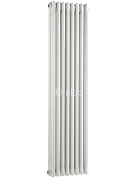 Ultra Colosseum Triple Column 381 x 1500mm White Radiator - HX309