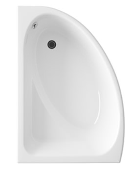Lauren Pilot 1500mm Offset Corner Right Handed Acrylic Bath