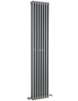 Colosseum Triple Column 381 x 1800mm Silver Radiator - HXS12