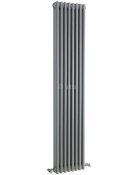Ultra Colosseum Triple Column 381 x 1800mm Silver Radiator - HXS12