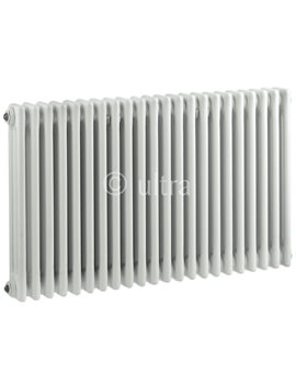 Colosseum Triple Column 1011 x 600mm White Radiator - HX306