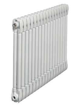Apollo Monza White Horizontal 2 Column Radiator 1000 x 670mm