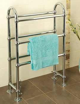 Ravenna Traditional Duel Fuel Towel Warmer 695 x 1032mm - DFCH