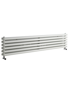 Savy Double Panel Horizontal White Radiator 1800x354mm