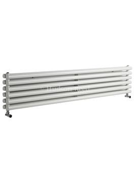 Savy Double Panel Horizontal White Radiator 1800x354mm