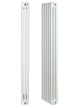 Roma Horizontal 3 Column Steel Radiator 800 x 400mm - 3C4H800